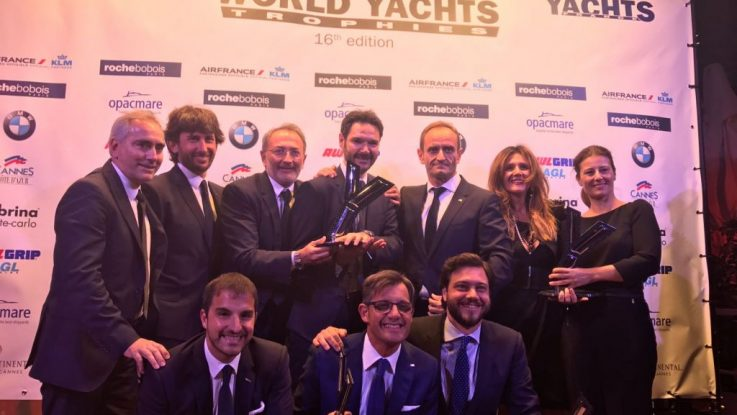 FERRETTI GROUP IS 'SHIPYARD OF THE YEAR'