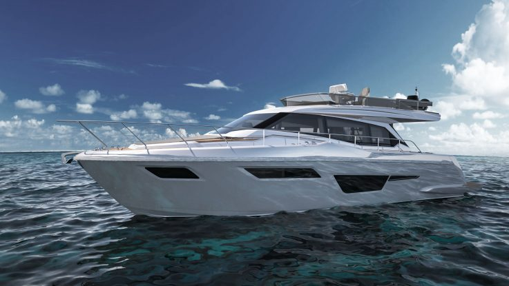 FERRETTI YACHTS 500 BEGINS A NEW ERA