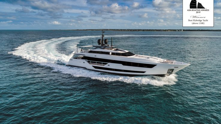 Ferretti Group wins at the Asia Boating Awards and enchants the Singapore Yacht Show